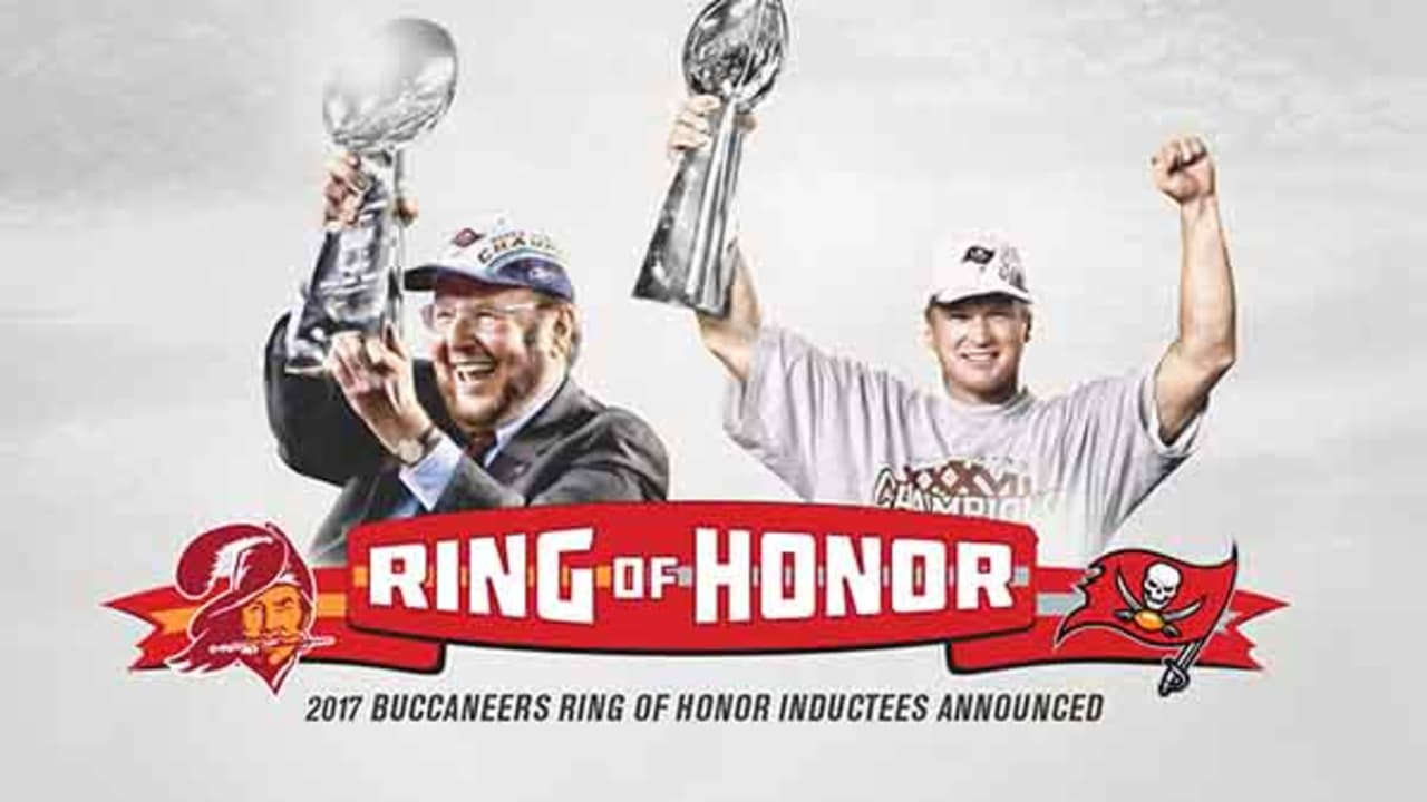 4aac1e51 Malcolm Glazer and Jon Gruden to be Inducted into Buccaneers Ring of ...