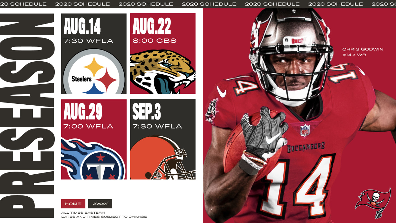 tampa bay buccaneers vs pittsburgh steelers jacksonville jaguars tennessee titans and cleveland browns in 2020 preseason tampa bay buccaneers vs pittsburgh