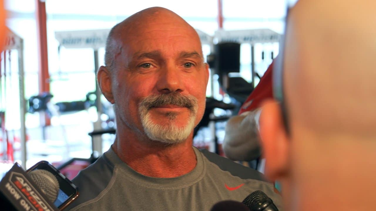 Strength Coach Buddy Morris on start of workouts
