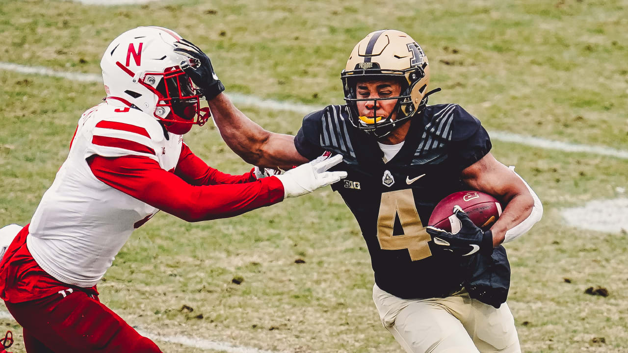 2021 Draft, Wide receiver Rondale Moore, Purdue, Round 2, Pick 49