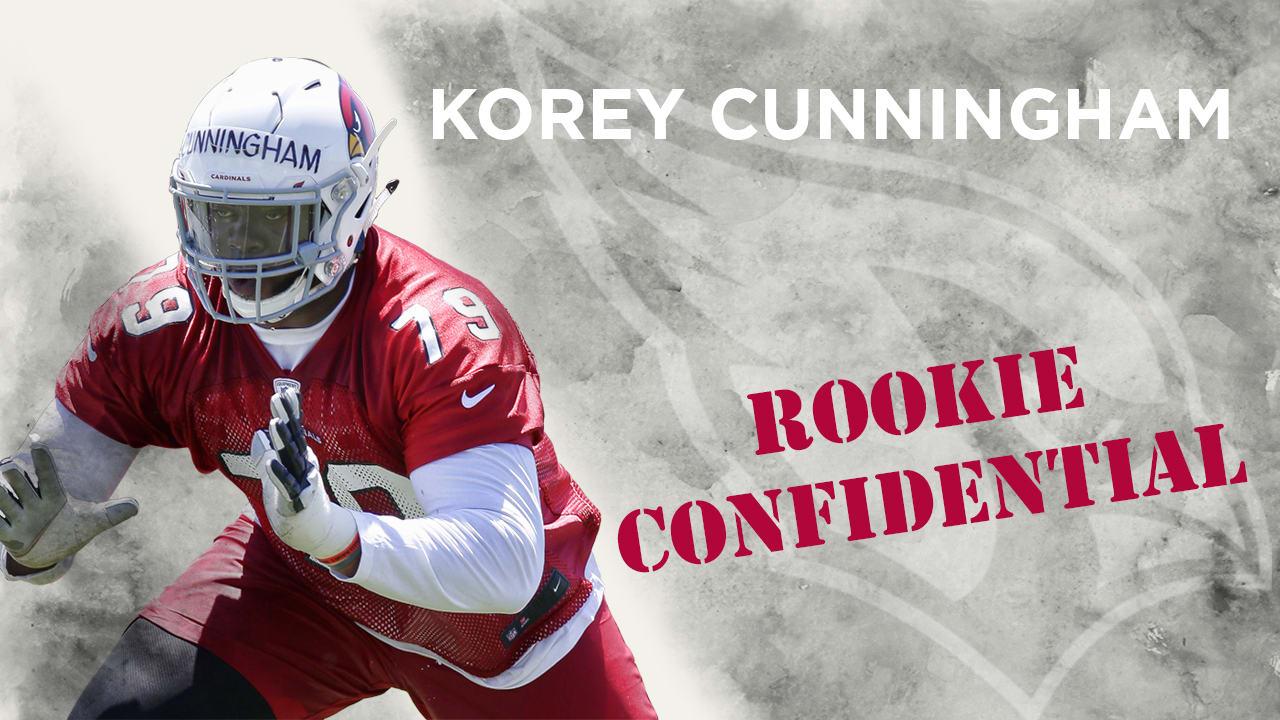 best service 648b1 cdffe Rookie Confidential - Korey Cunningham