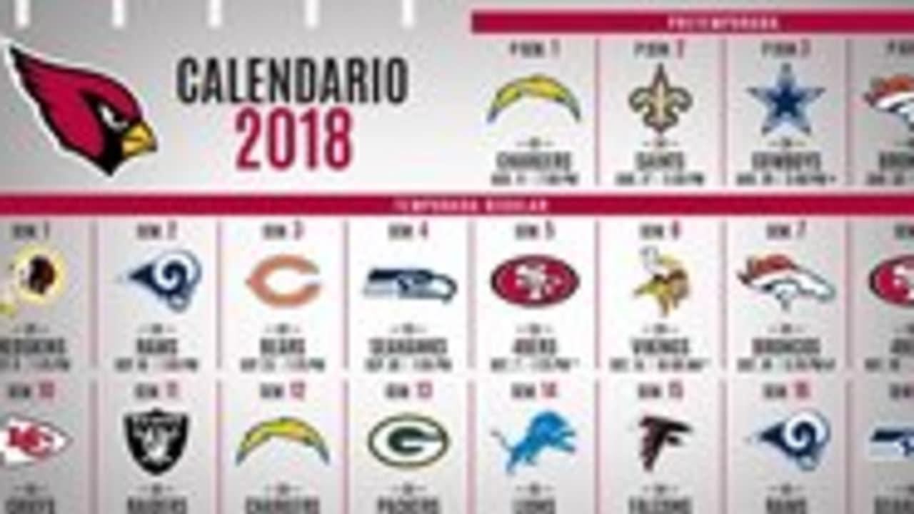 Cardenales Publican Su Calendario De Juegos Para El 2018