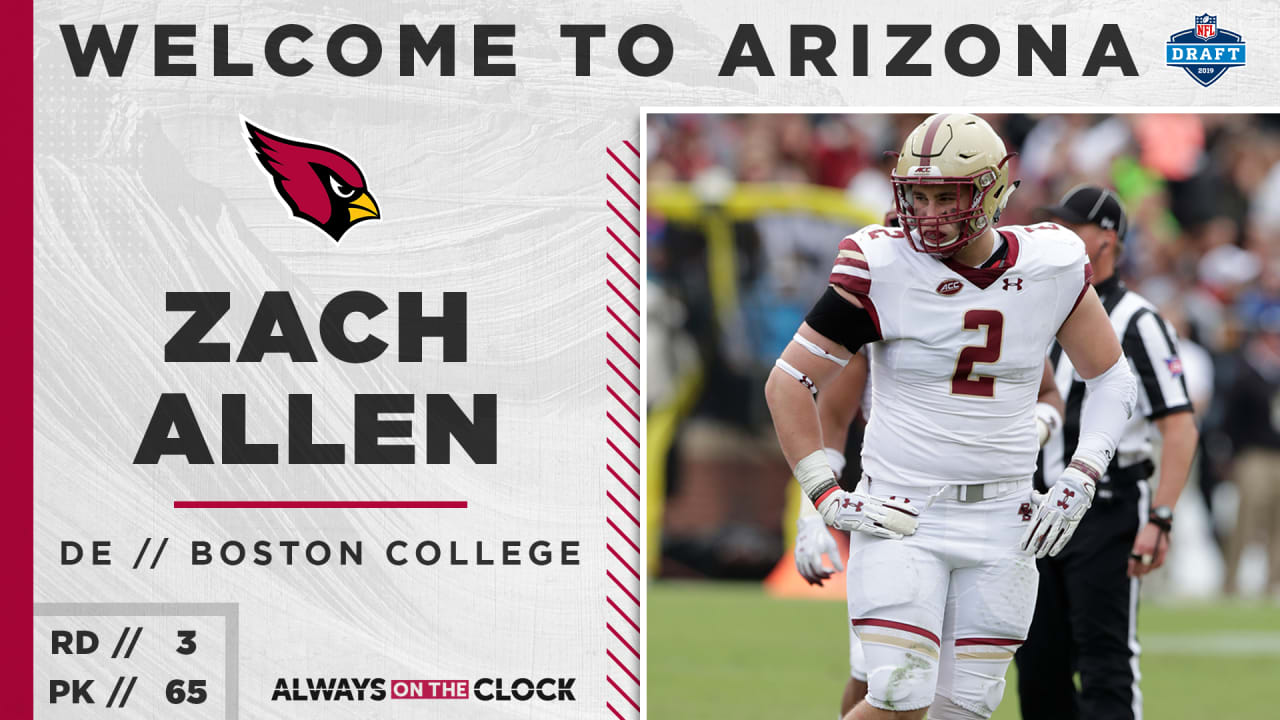 7a59460f Arizona Cardinals Select Boston College DE Zach Allen