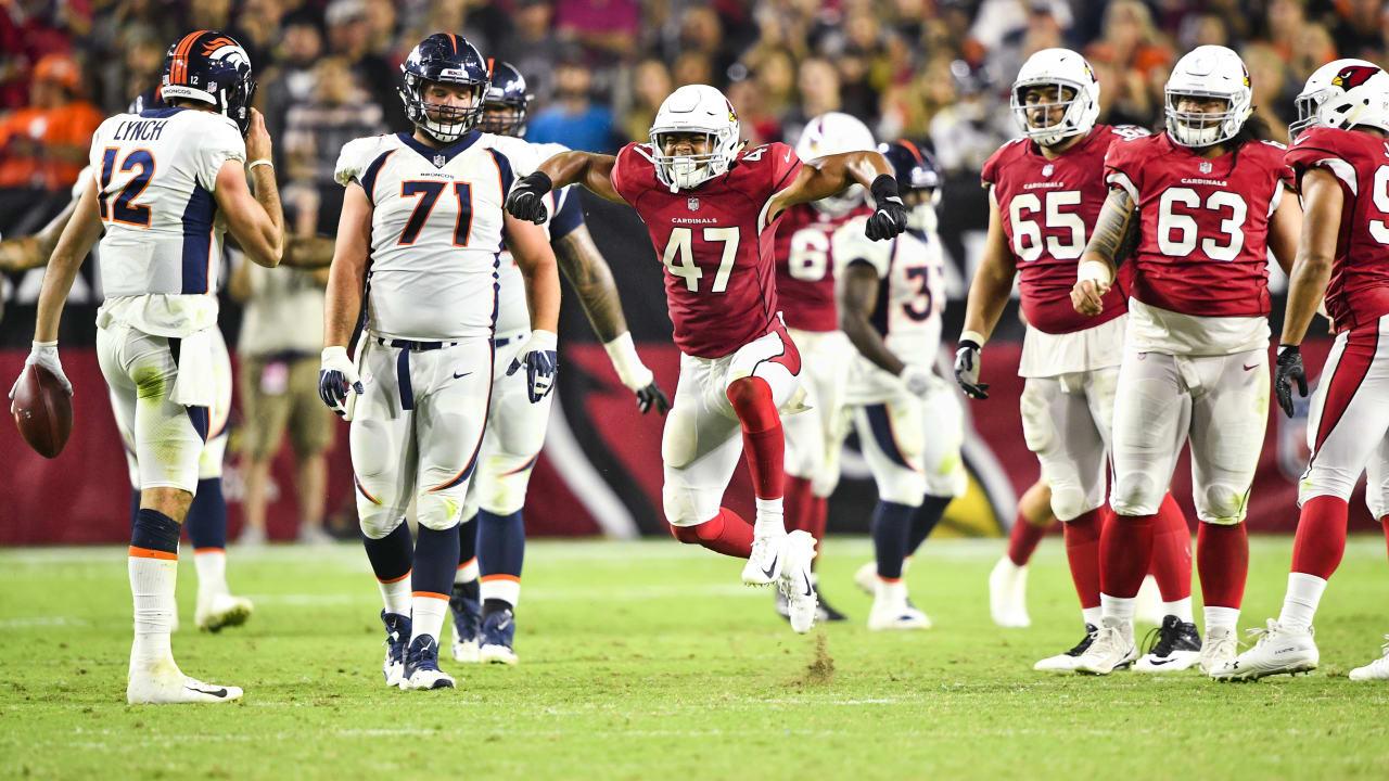 premium selection 33f5e 0cfbb Zeke Turner Excels As Cardinals Drop Preseason Finale To Broncos