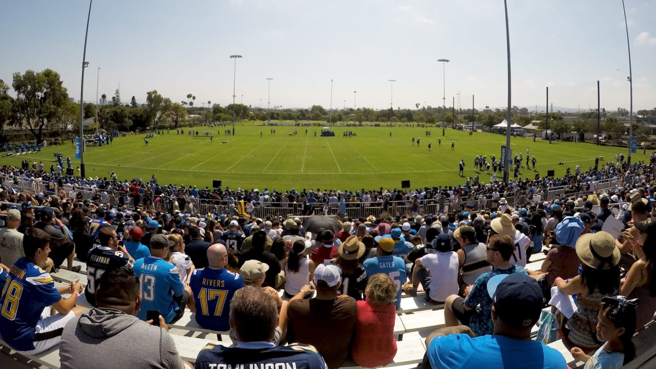 Chargers Training Camp Begins July 28th