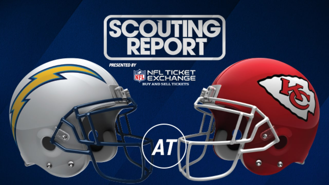 Scouting Report Chargers Vs Chiefs