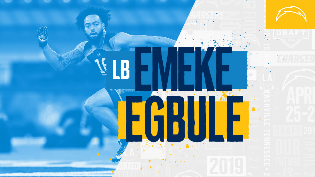 cheap for discount c9454 716c6 Bolts Draft Athletic LB Emeke Egbule in Round Six