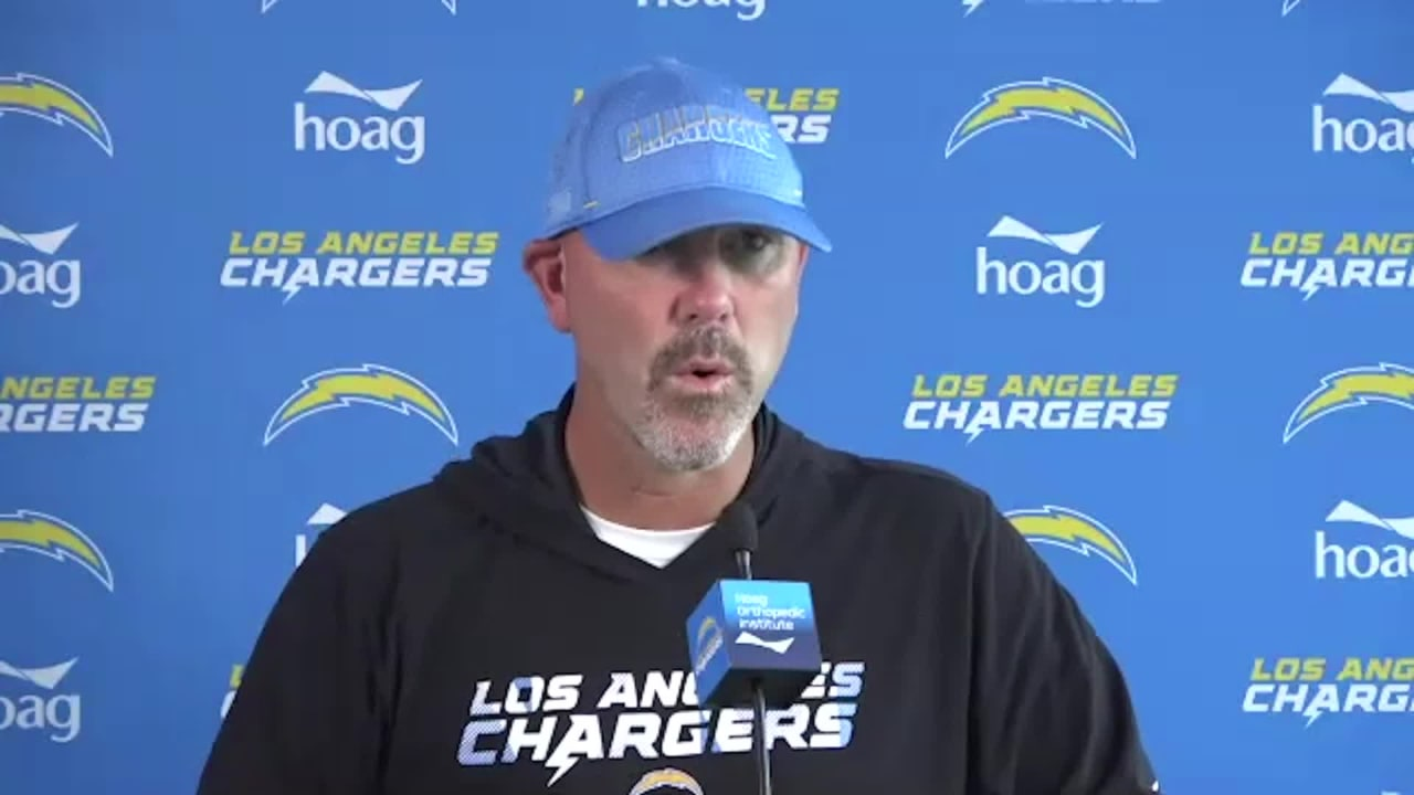Chargers Defensive Coordinator Gus Bradley on the ...