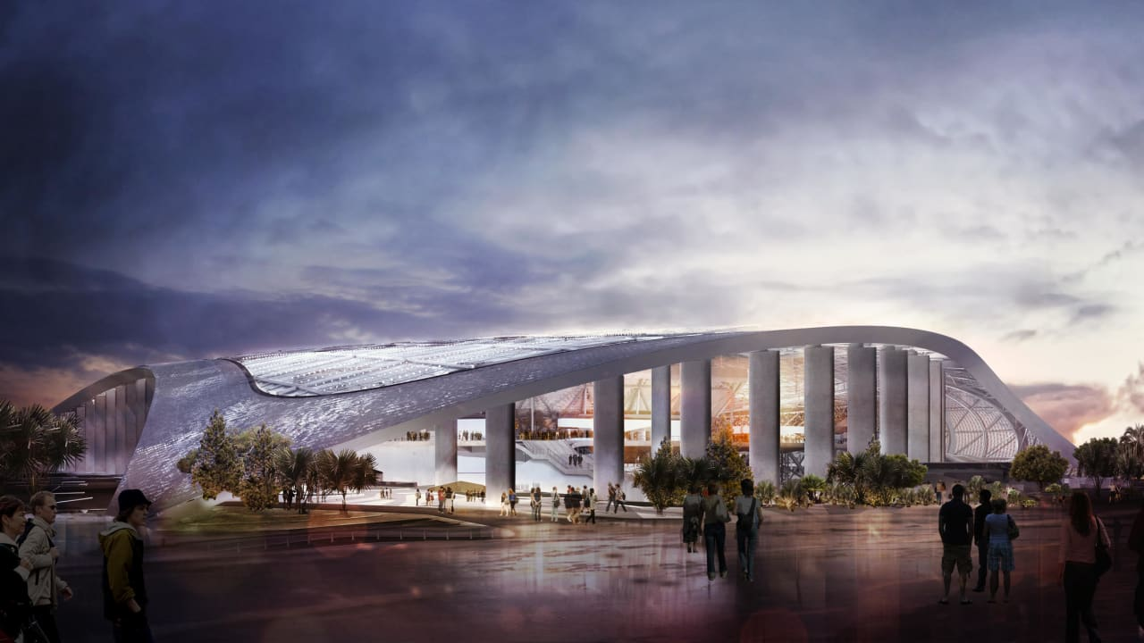 See The Latest Renderings Of The New Sofi Stadium