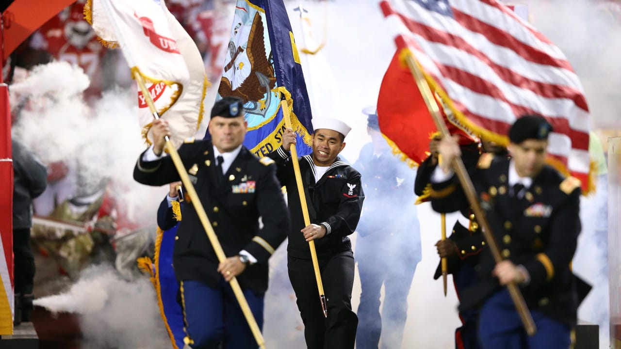 Salute to Service  Chiefs to Honor Our Nation s Heroes on Sunday 8dcf5e23d