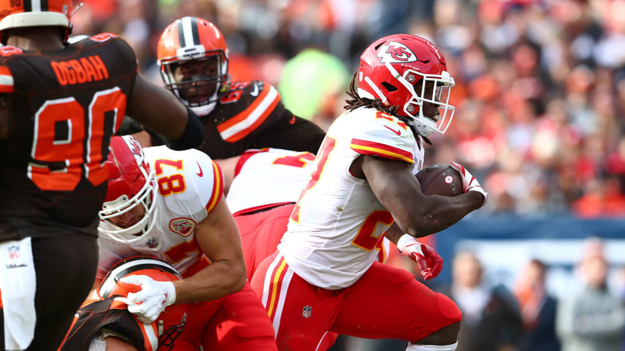 Image result for kareem hunt vs browns