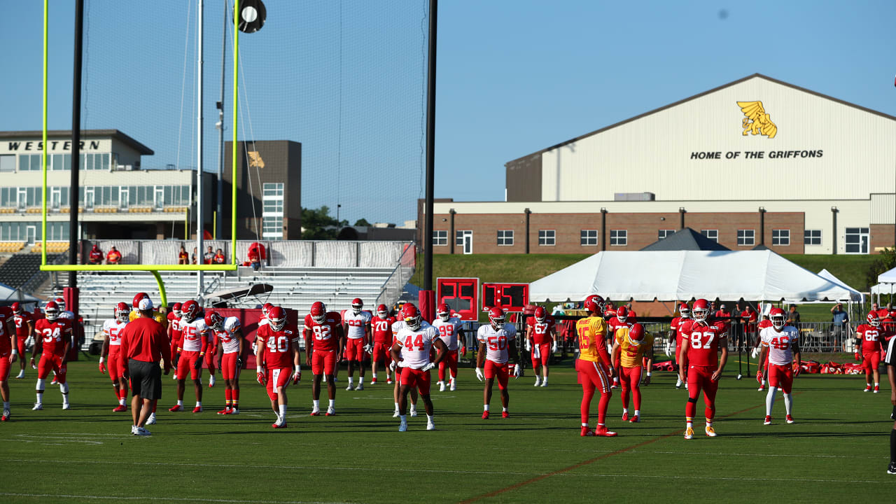 2021 Chiefs Training Camp presented by Mosaic Life Care Returning to Missouri Western State University