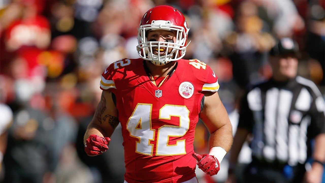 9acd60596 Anthony Sherman New Weapon on Defense