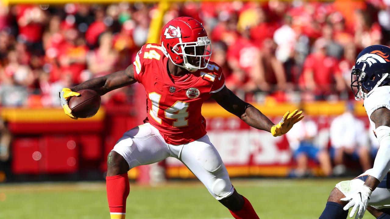the best attitude 885a0 f0c00 Chiefs vs. Broncos: Sammy Watkins Highlights