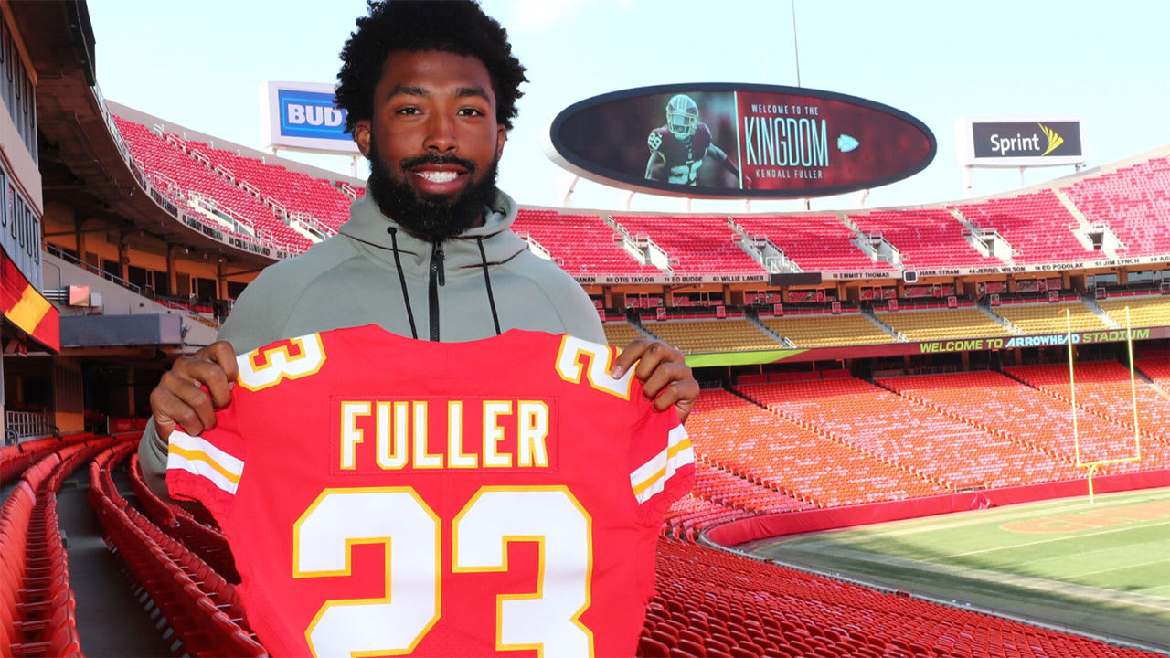 quality design 7ccf9 110f1 Chiefs CB Kendall Fuller: