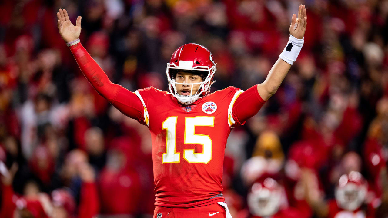 d2fb80c8f79 Patrick Mahomes Named 2018 Most Valuable Player