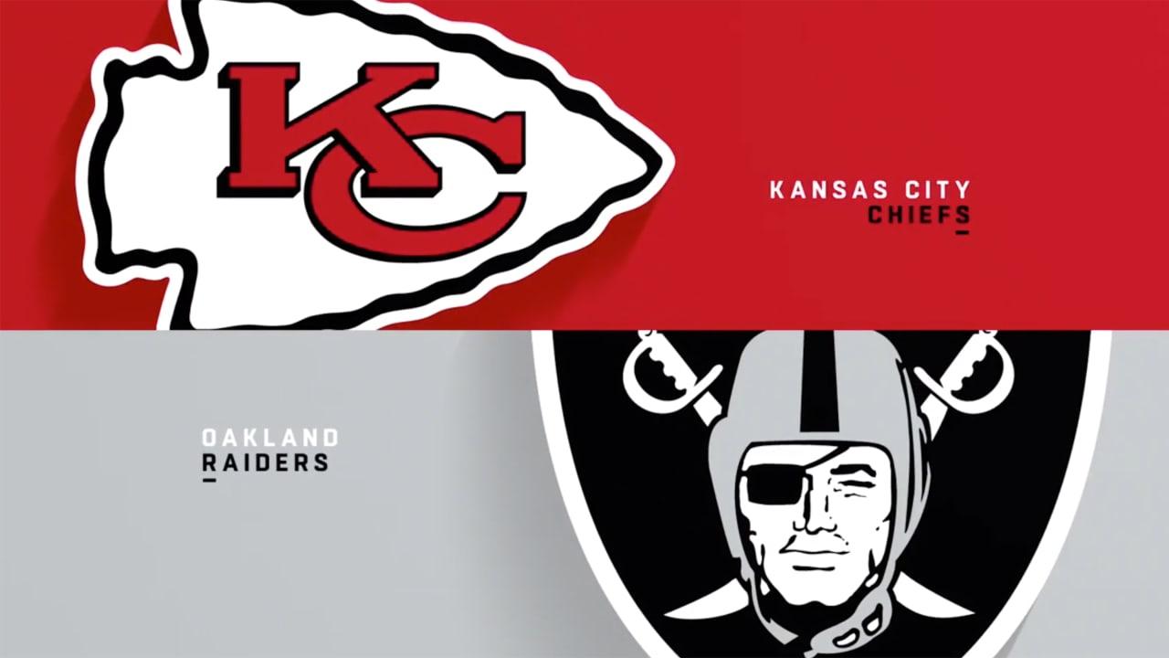 39e732a02f7 Chiefs vs. Raiders Highlights