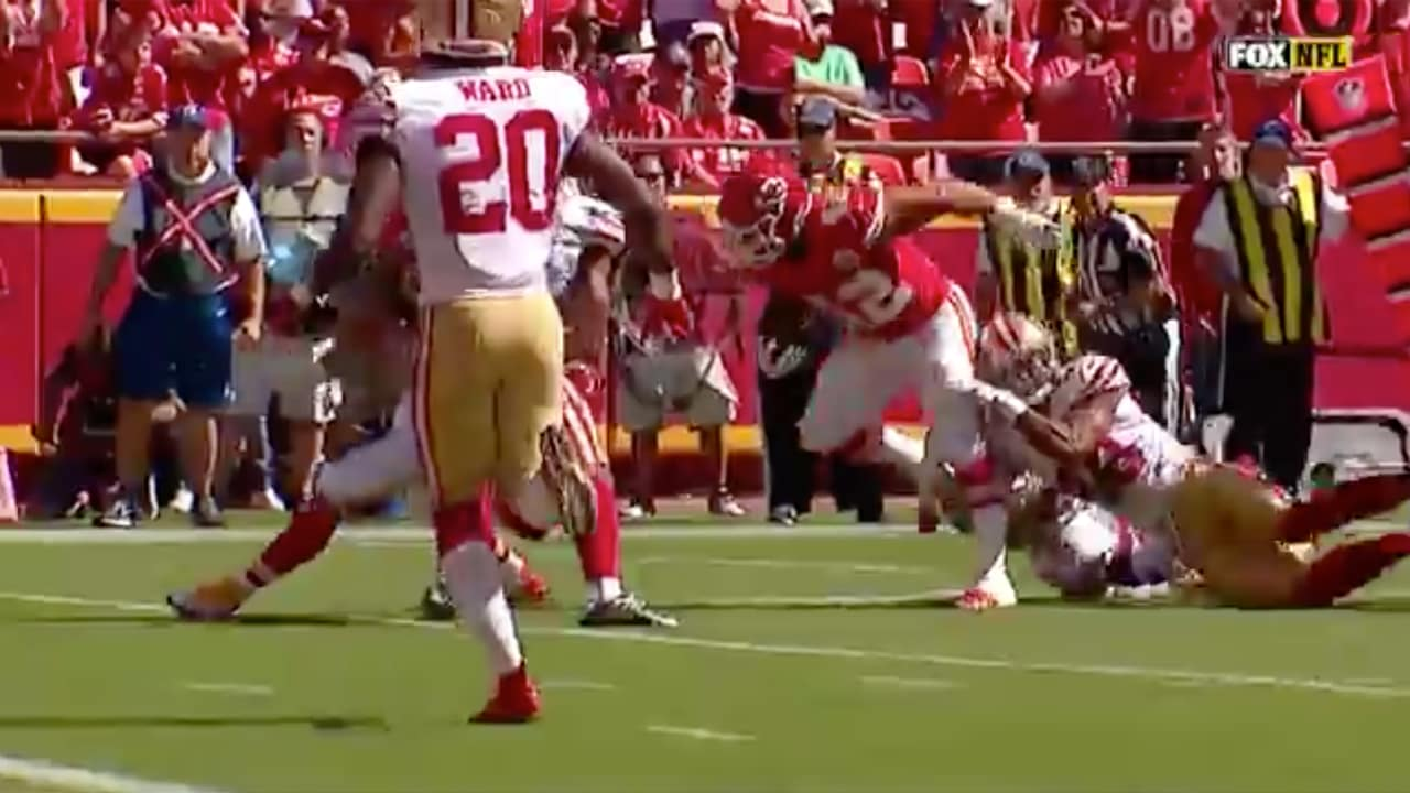 64dfef6aa Anthony Sherman Bulldozes to 1-Yard Line on Catch and Run