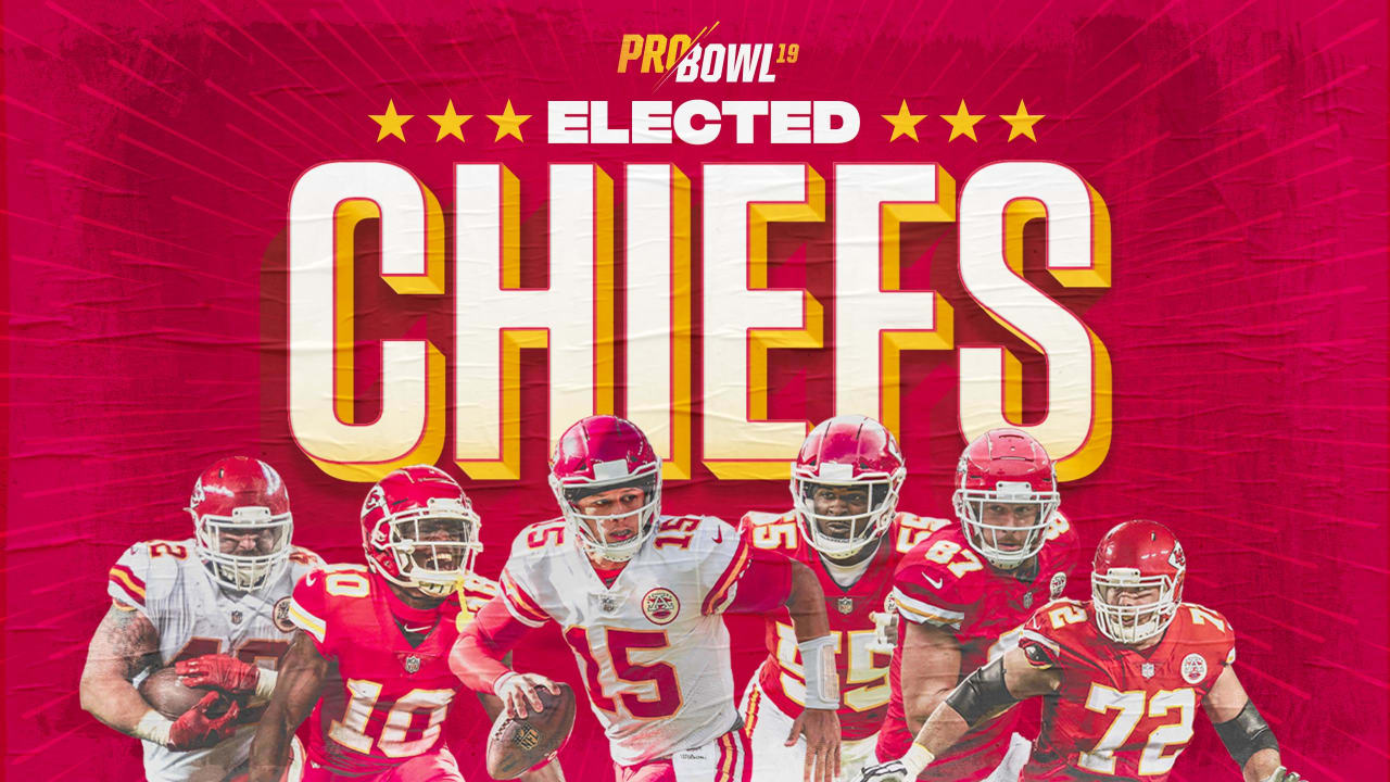 purchase cheap a928e 8d5cc Six Chiefs Players Named to 2019 Pro Bowl Roster