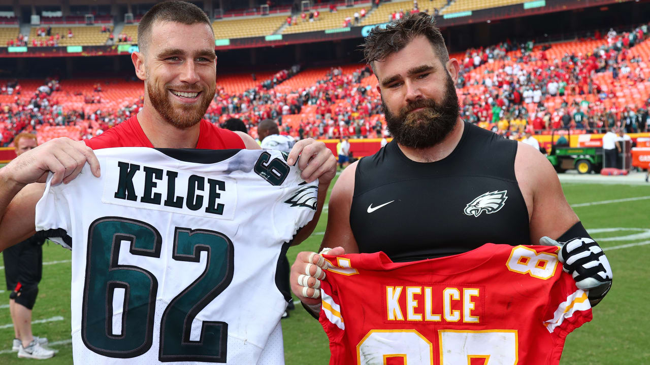 sports shoes 48b19 d58ff NFL Films Presents The Kelce Brothers