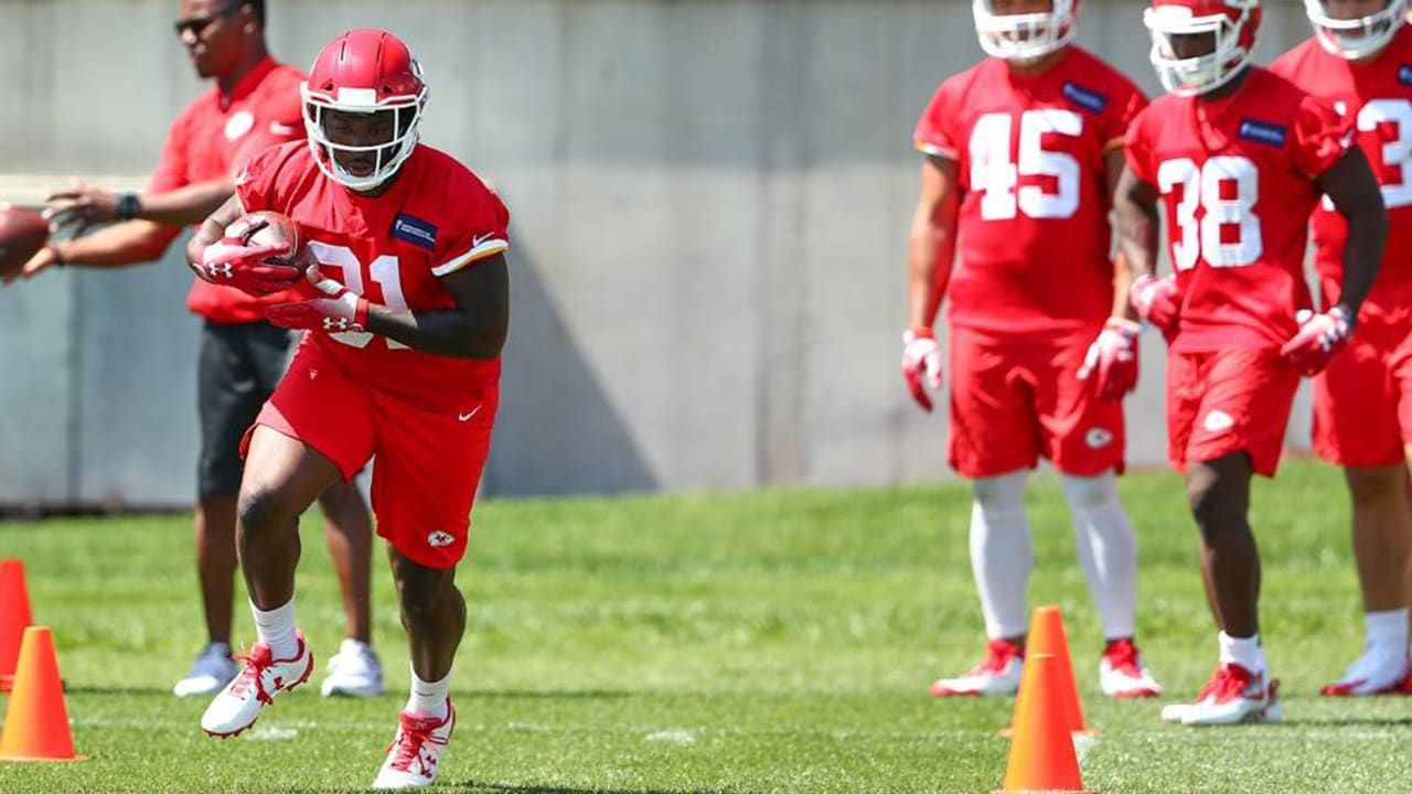 brand new c08ea 74c59 Highly-Touted UDFA RB Darrel Williams Ready to Make Most of ...