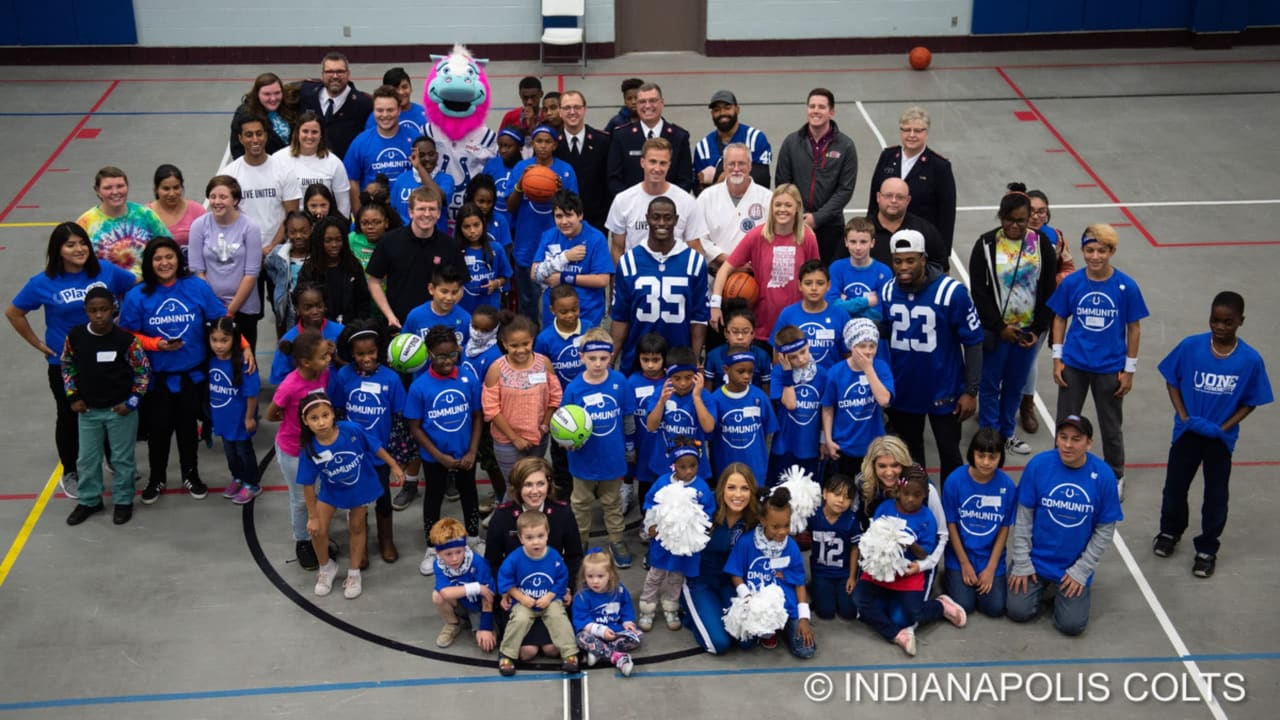166b6e6e Colts Unveil New Fitness Room At Eagle Creek Salvation Army
