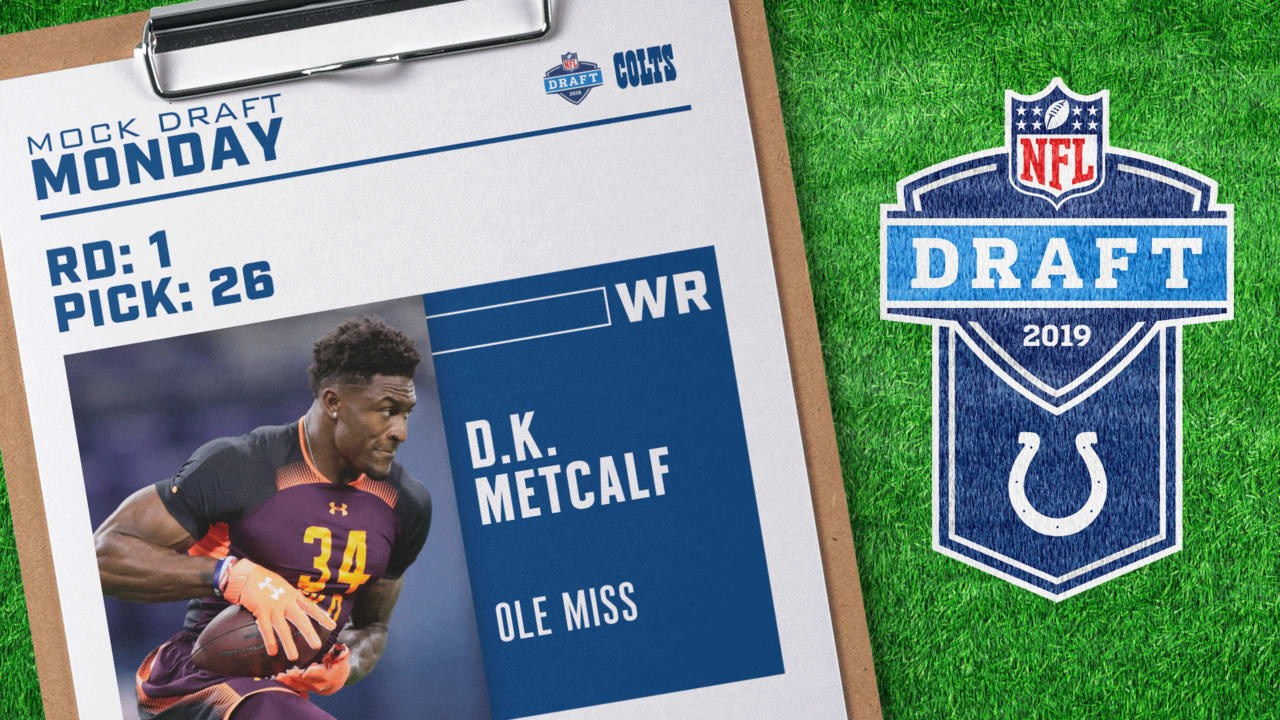 Indianapolis Colts 2019 Mock Draft Monday  March 4 9a0dc46f9