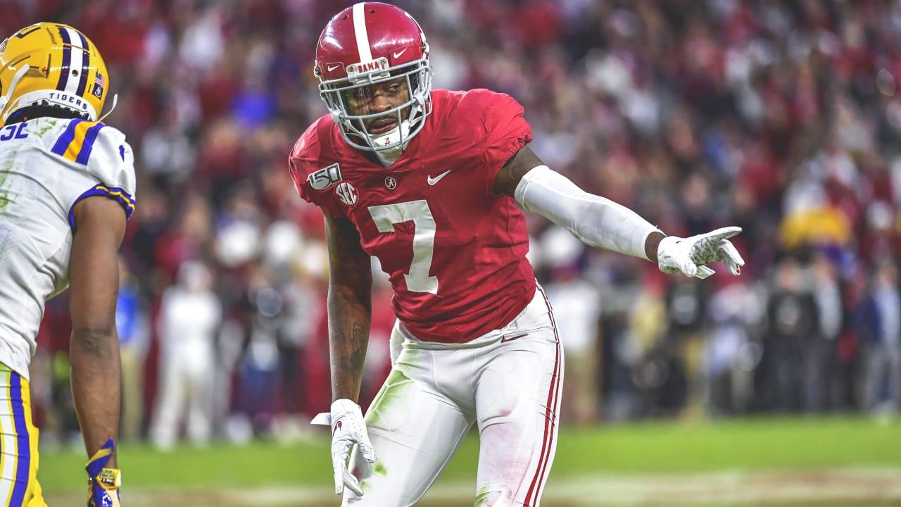 Alabama Crimson Tide Trevon Diggs 2020 Draft Profile
