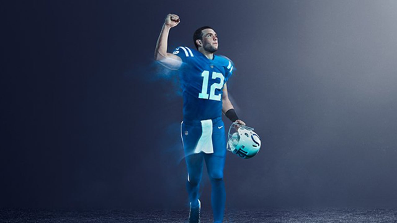 timeless design eb182 6491f Colts To Wear Color Rush Jerseys In 2017