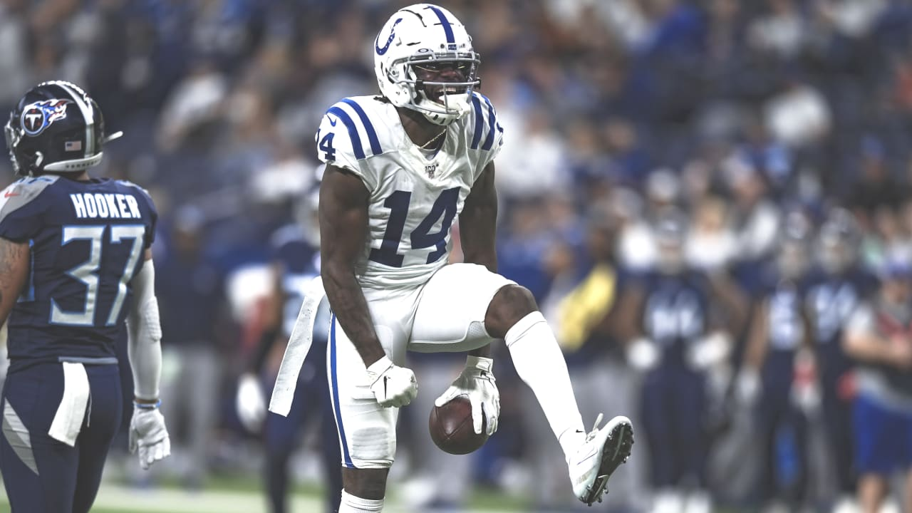 Indianapolis Colts wide receiver Zach Pascal turned in career-bests in  receptions and receiving yards in Sunday's Week 13 loss to the Tennessee  Titans