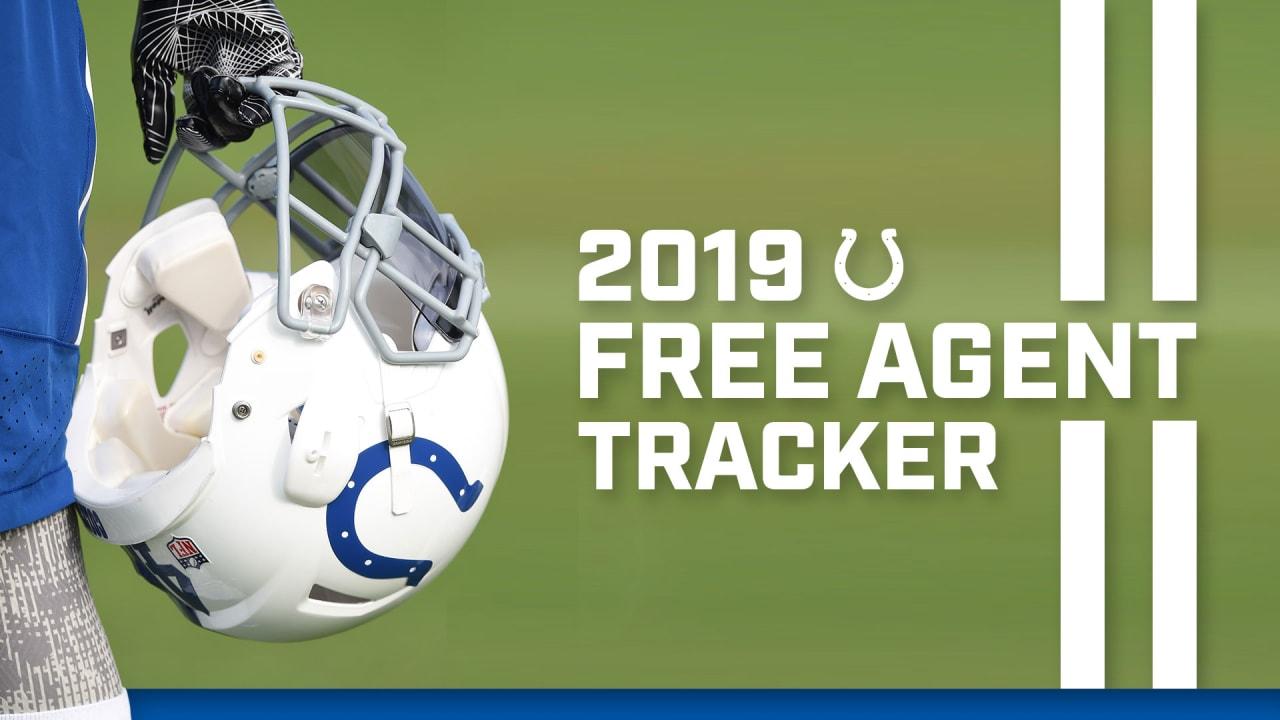 3c8e60e6 2019 Colts Free Agent Tracker