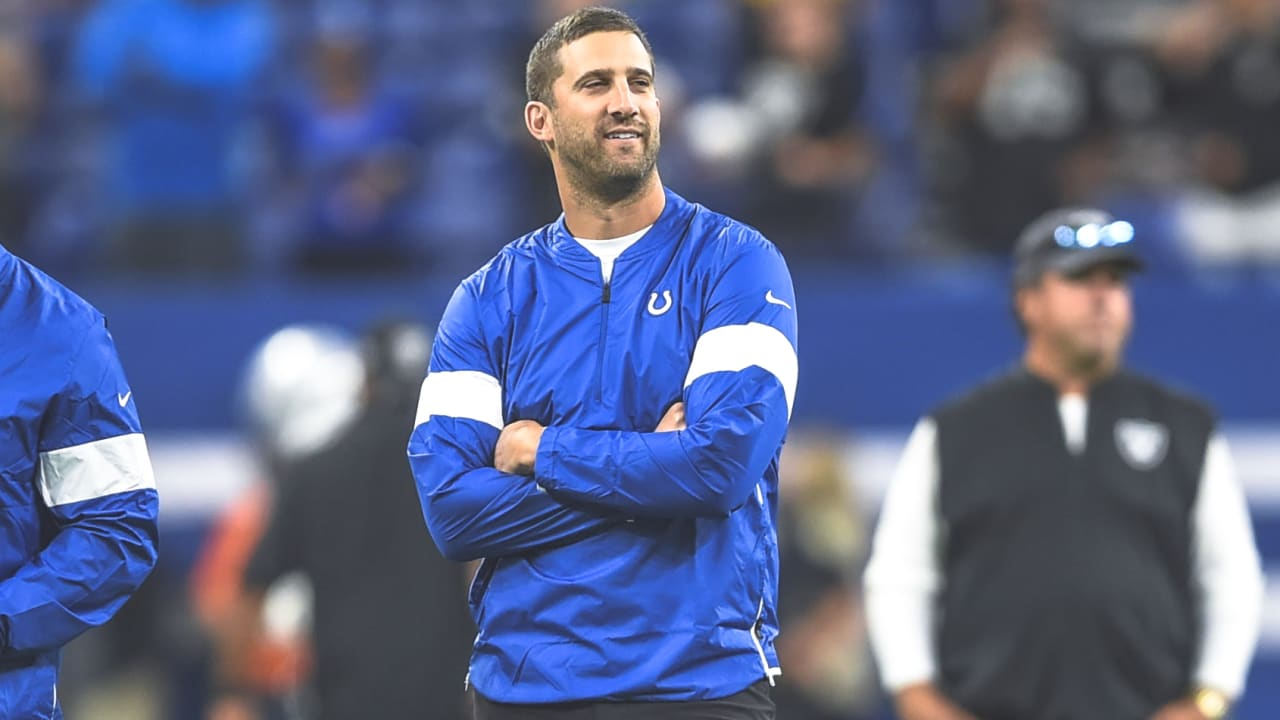 Nick Sirianni, the Colts' offensive coordinator the past three seasons, has  been named the head coach of the Philadelphia Eagles