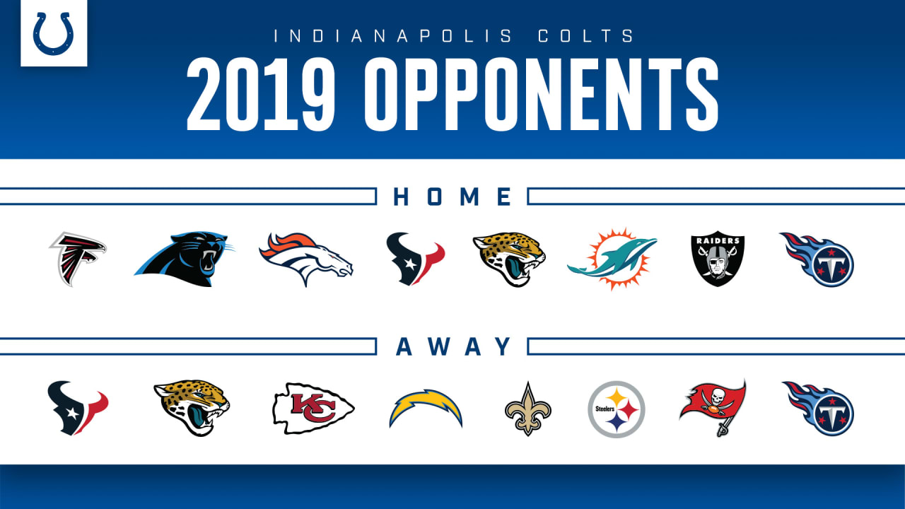 7f1f882e Colts' 2019 Home/Away Opponents Finalized
