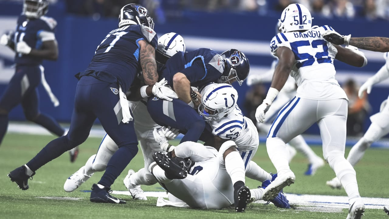 By The Numbers Indianapolis Colts Fall To The Tennessee