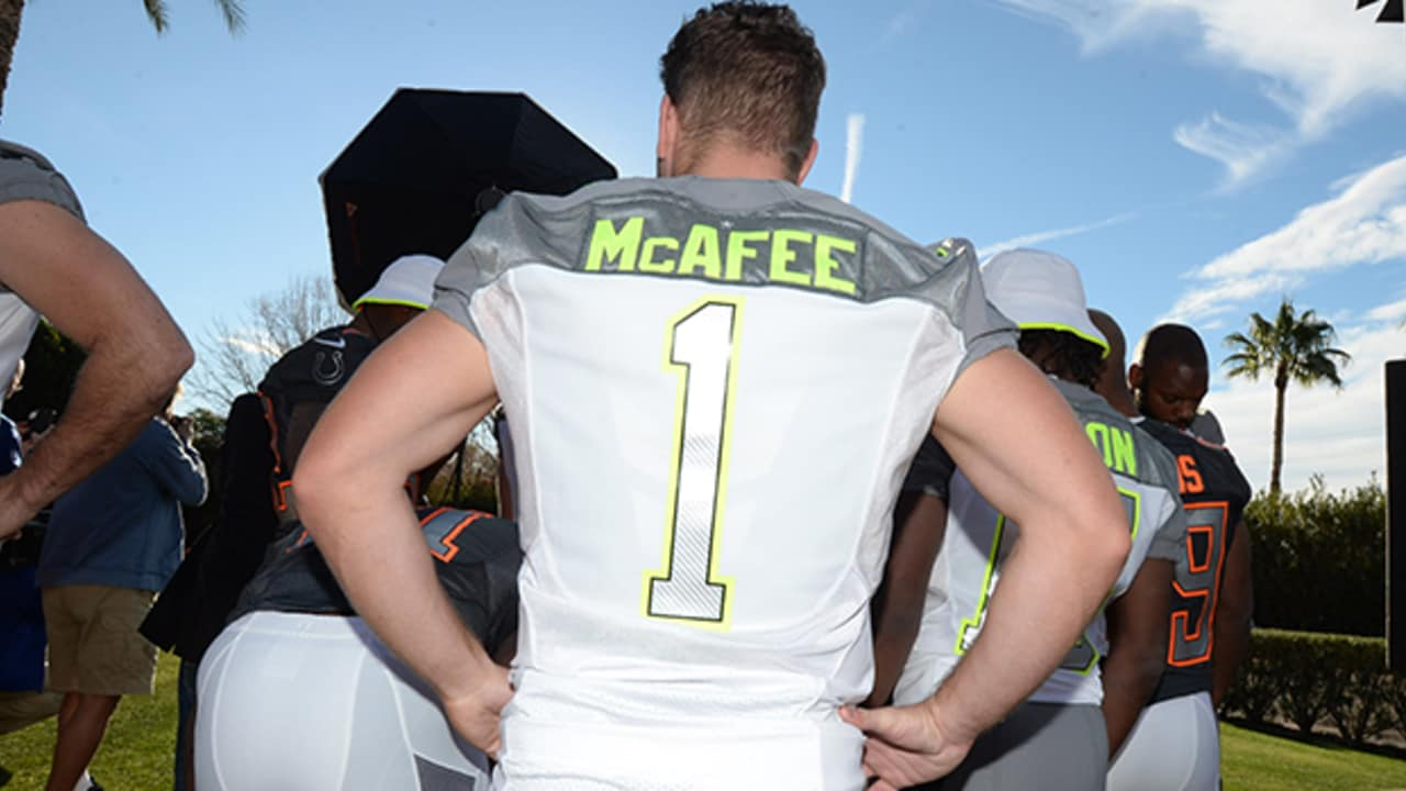 promo code f4388 d985c Knee Surgery Forces Pat McAfee Out Of Pro Bowl