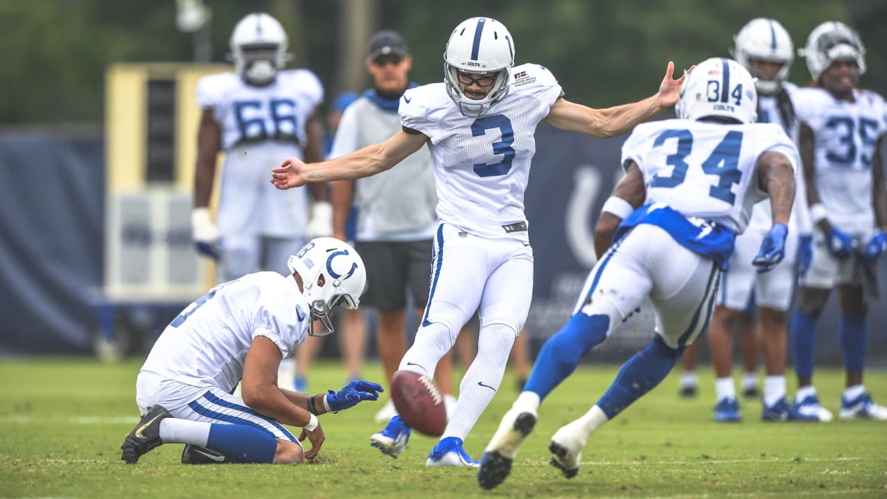 Kicker Rodrigo Blankenship represents a 22nd straight year — the longest  active streak in the NFL — that the Colts will keep an undrafted rookie on  their Week 1 roster
