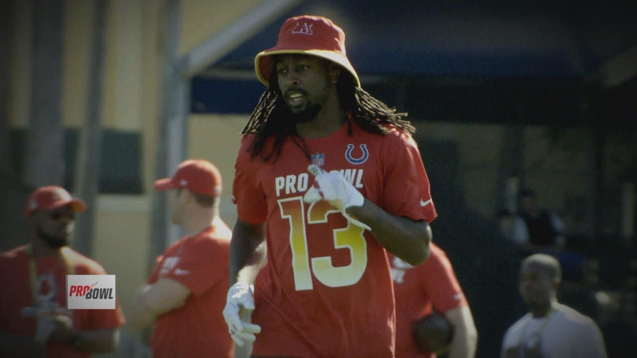the latest 2811e c5041 Pro Bowl Day 1: Colts WR T.Y. Hilton Practice Wire-Up