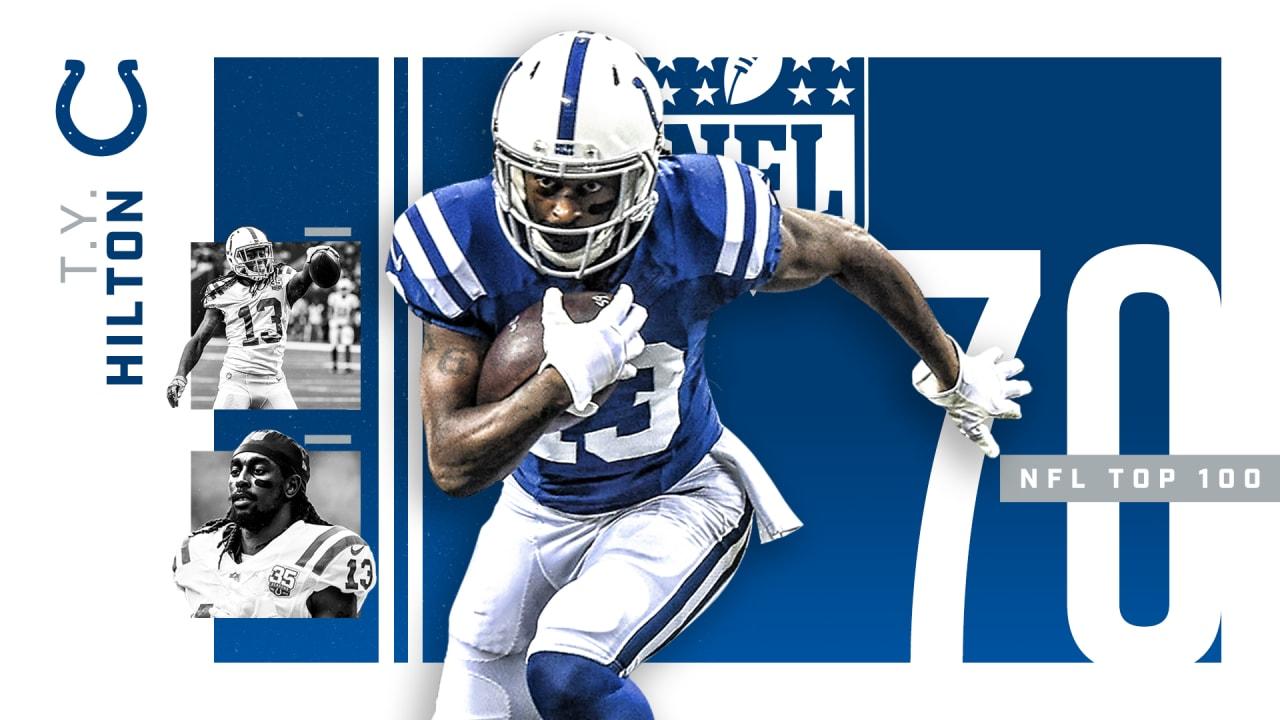 wholesale dealer d3337 faee0 T.Y. Hilton Ranked No. 70 On NFL's Top 100 Players List