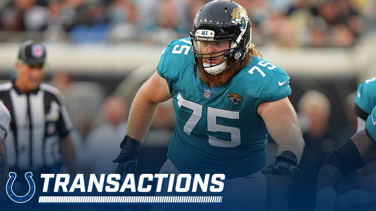 sale retailer d2770 fe77c Roster Move: Colts Sign G William Poehls To Reserve/Future Deal