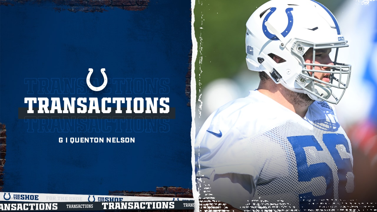 Colts Place Guard Quenton Nelson On Reserve/COVID-19 List
