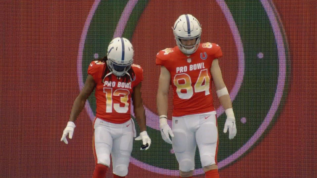 more photos aa8ed 0d02c Pro Bowl Mic Up: Hilton & Doyle Wired For Sound In Orlando