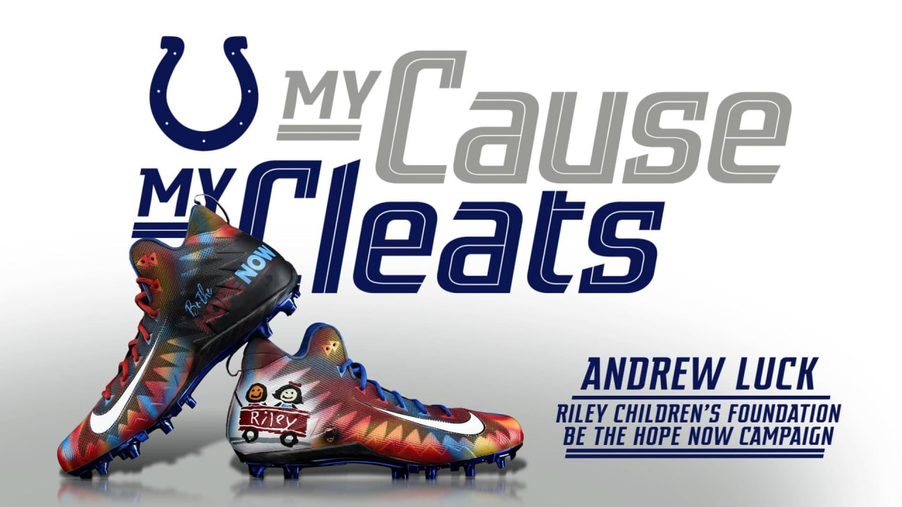 My Cause My Cleats  Quarterback Andrew Luck ccd04f081