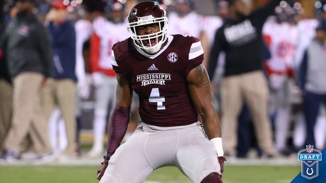 cheap for discount 8ae1c 61b10 Colts Select Defensive End Gerri Green With 199th-Overall Pick