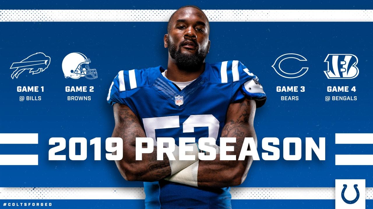 d6a91b6f Colts Announce 2019 Preseason Opponents