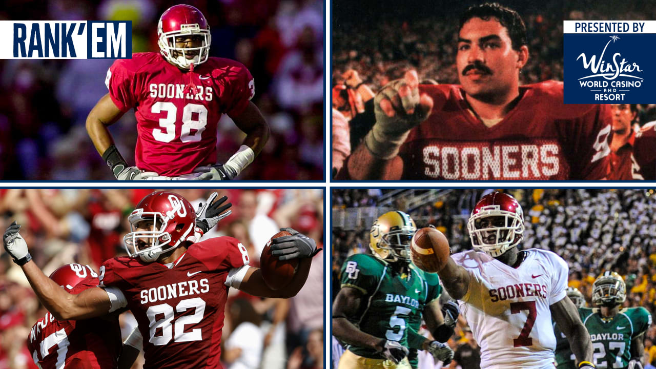 Rank Em Best Ou Sooners In Cowboys History