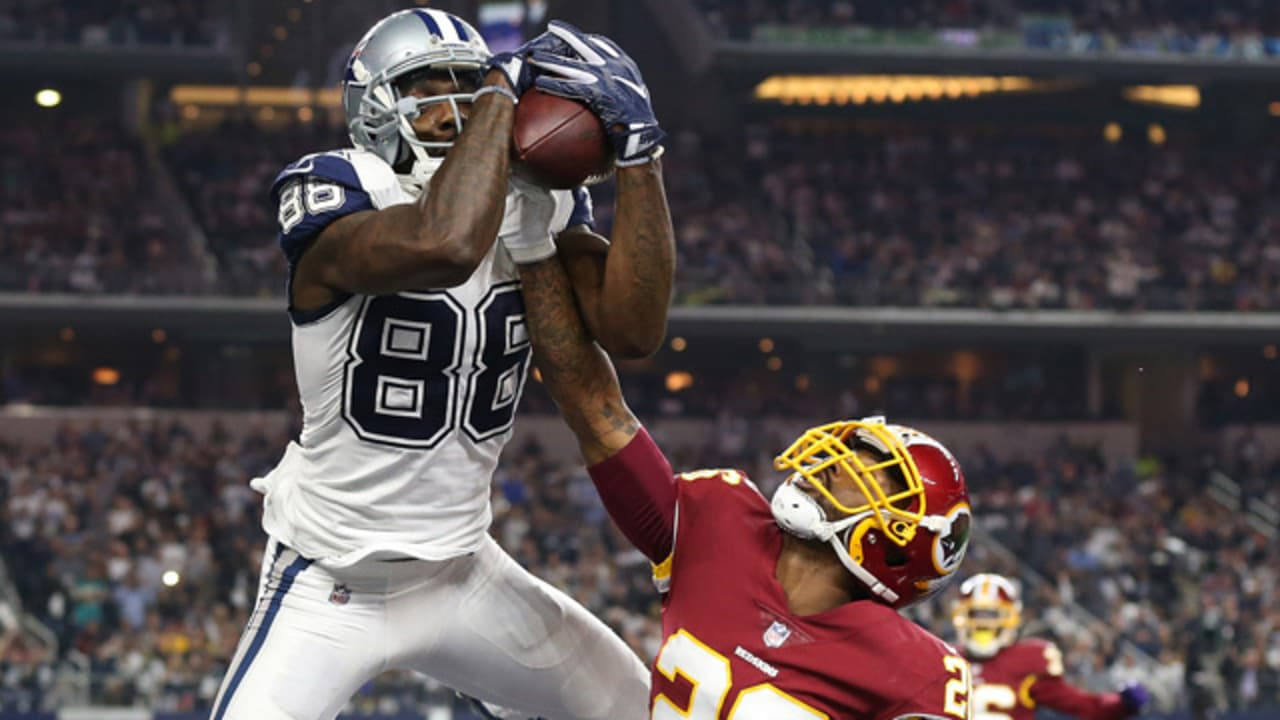 41c088e1610 Dez Bryant Sets Cowboys Francise TD Record w/ Leaping Catch