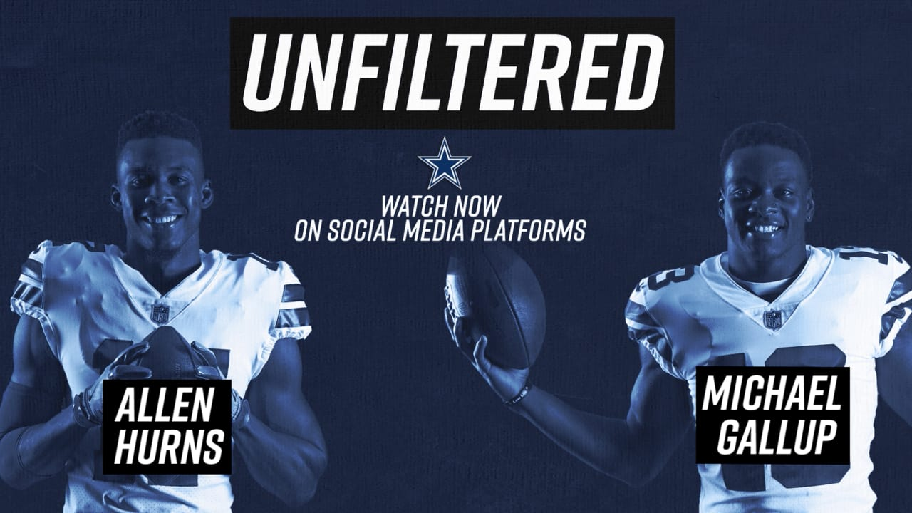 outlet store 53e91 65aa3 Unfiltered: Allen Hurns & Michael Gallup