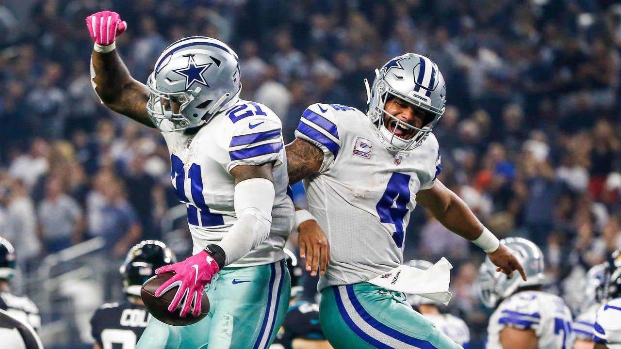 Dak, Zeke Combine To Gash The Jags
