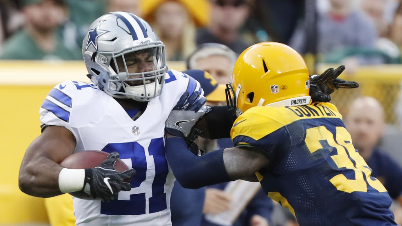 Elliott Wants To Talk About Teammates More Than Rookie Rushing Record