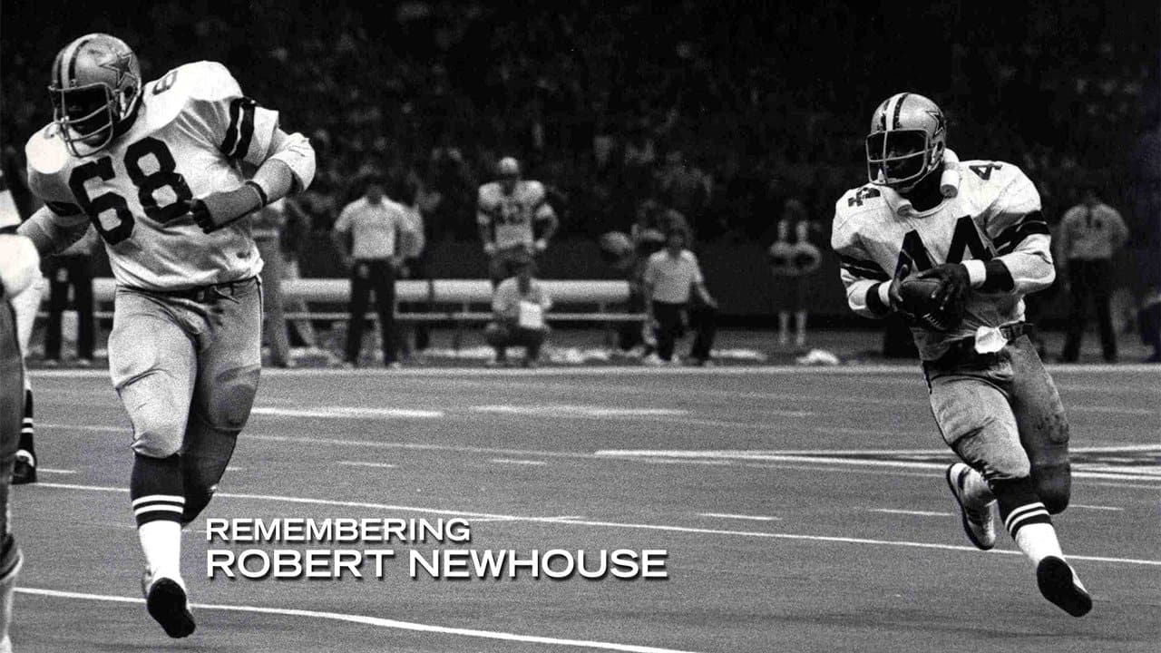 the latest 48b8a ee3d5 STAR: On and Off Field, Robert Newhouse Truly Loved By All